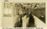 Lower Baker River dam construction 1925-09-22 Oil Circuit Breakers 110,000 Volts