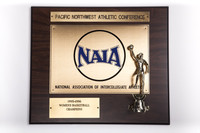 Basketball (Women's) Plaque: Pacific Northwest Athletic Conference Champions, 1995/1996