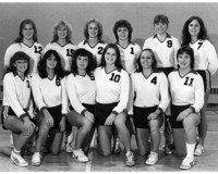 1980 Volleyball Team