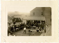 Boxing match at Pacific American Fisheries Naknek Cannery 4th of July Celebration
