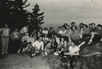 1949 Chuckanut Mountain: College Group at Top