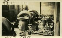 Lower Baker River dam construction 1925-08-22 Unit #1