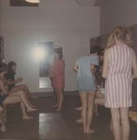 Blue Barnacle Swim Club, Members of the Blue Barnacles Swim Club Backstage