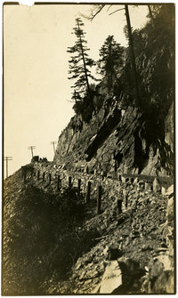 Construction of Chuckanut Drive between Oyster Creek and Blanchard