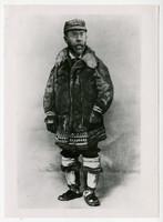 Dr. Sheldon Jackson, in native Alaskan winter garb