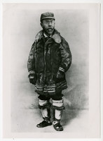 Dr. Sheldon Jackson, in native Alaskan winter garb