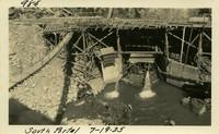 Lower Baker River dam construction 1925-07-19 South Portal