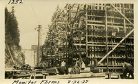 Lower Baker River dam construction 1925-08-26 Monitor Forms