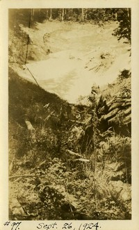 Lower Baker River dam construction 1924-09-26 Site picture