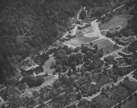 1950 Aerial View: North Campus