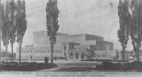 1949 Architect's Drawing