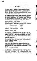 WWU Board minutes 1947 June