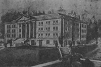 1945 Edens Hall: Artist's Drawing
