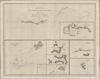 A Chart Showing Part of the S.W. Coast of New Holland, With the Tracks of His Majesty's Sloop Discovery and the Armed Tender Chatham