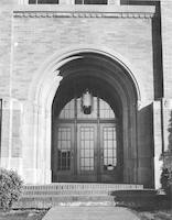 1948 Campus School Building, Main Entrance