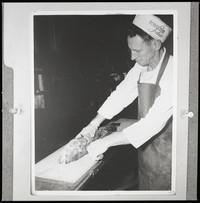 Bornstein Seafoods employee