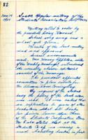AS Board Minutes - 1924 November