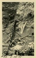 Lower Baker River dam construction 1925-02-28