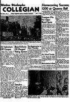 Western Washington Collegian - 1952 November 7