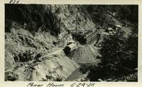 Lower Baker River dam construction 1925-06-24 Power House