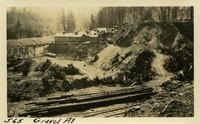Lower Baker River dam construction 1925-05-15 Gravel Pit