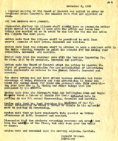AS Board Minutes 1931-11
