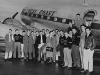 1947 Football Team: First Athletic Team to Fly