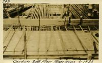 Lower Baker River dam construction 1925-06-19 Conduits 2nd Floor Power House