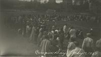 1927 Campus Day: Crowd Watching Race