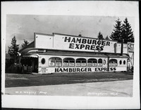 The Hamburger Express a diner-type restaurant that was located at 3300 Northwest Avenue from 1935 until 1947