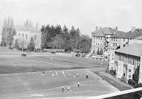 1950 View of Campus School and Playground