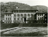 """Old Main"" on the campus of what is now Western Washington University"