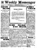 Weekly Messenger - 1921 September 23