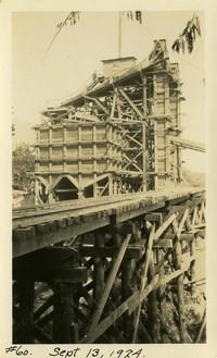 Lower Baker River dam construction 1924-09-13 Concrete batch plant