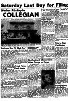 Western Washington Collegian - 1953 October 30