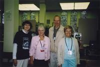2007 Reunion--Marian Alexander, Wendy (Jackson) Reeder, Ed Stimpson and Dorothy Stimpson in Special Collections