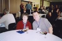 2007 Reunion--Barbara Cunningham and Lance Lindell