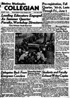 Western Washington Collegian - 1950 May 27