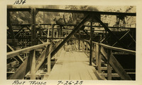 Lower Baker River dam construction 1925-07-26 Roof Trusse
