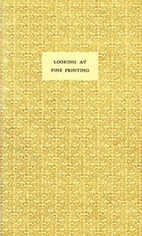 Looking at Fine Printing