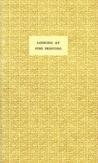 Looking at Fine Printing