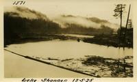 Lower Baker River dam construction 1925-12-05 Lake Shannon