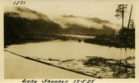 Lower Baker River dam construction 1925-12-05 Lake Shannon