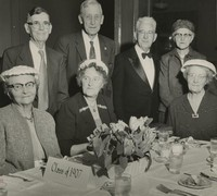 1957 Class of 1907 at Homecoming