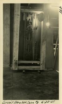 Lower Baker River dam construction 1925-06-28 Circuit Breaker Case #3