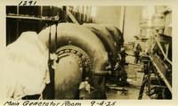 Lower Baker River dam construction 1925-09-04 Main Generator Room