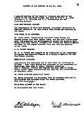 WWU Board minutes 1922 May