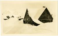 Mount Baker Ski Lodge under deep snow