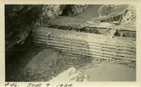 Lower Baker River dam construction 1924-09-09 Diversion dam