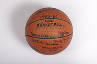 Basketball (Women's): Signed Basketball (side 2), 1985/86
